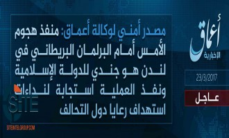 "'Amaq Reports London Attacker an IS ""Soldier"""