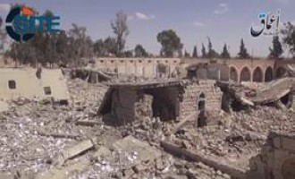IS-Linked 'Amaq News Agency Video Shows Tadmur Prison After Leveling