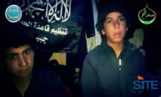 Nusra Front Interviews Two 13-Year-Old Boys about Fighting for the IS