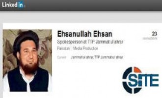 TTP Jamat-ul-Ahrar Spokesman Promotes His LinkedIn Profile on Twitter