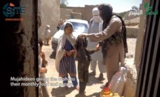 Ansar ul-Yateem Videos Show Fighters Donating Food to Orphans, Widows in Khorasan