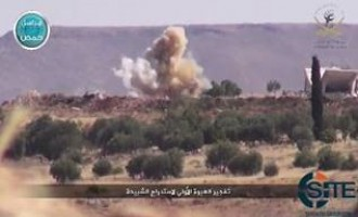 NF Video Shows Attack on Regime Forces in Southern Countryside of Hama