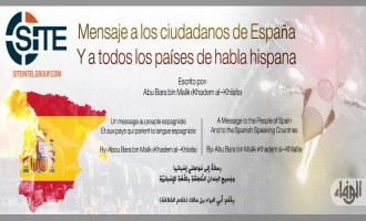 "Pro-IS Group Publishes Message Threatening Spanish ""Disbelievers"""