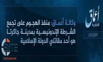 IS' 'Amaq Reports Jakarta Attack Carried out by IS Fighter