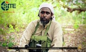 Shabaab Spokesman Addresses Graduation of Foreign Fighters from East Africa in Video