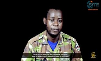 "Shabaab Video Shows Kenyan POW ""Pleading"" with Kenyan Public, Politicians for Help"