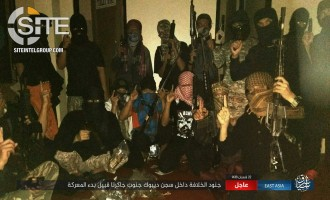 IS Reports Ongoing Clashes Inside Prison in Jakarta, Provides Photos of Fighters and Seized Weapons