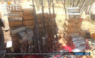 IS' West Africa Province Publishes Photos of War Spoils from Attack in Niger