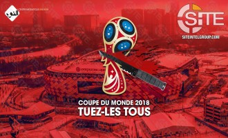IS-linked French Group Incites for Attacks at 2018 FIFA World Cup in Russia