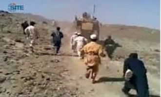 Afghan Taliban Gives Video of Children Throwing Stones at US Vehicles