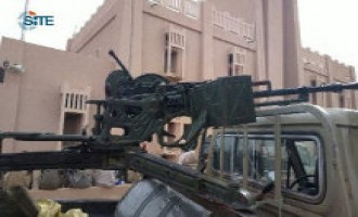 Jihadist Gives Pictures of Fighters' Weapons in Timbuktu
