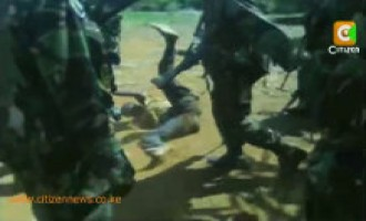 Shabaab Condemns Footage of KDF Soldiers Beating Suspects