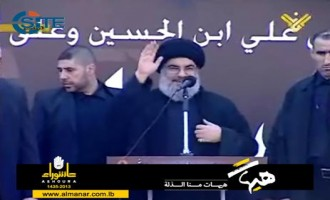 Nasrallah Vows to Keep Fighters in Syria