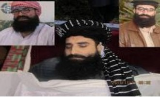 Pakistani Jihadists Distribute Picture of Nasiruddin Haqqani Before Burial