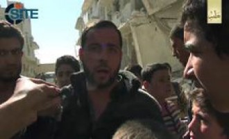 Civilians in Aleppo Condemn Syrian Airstrikes, Praise Caliphate in IS Video