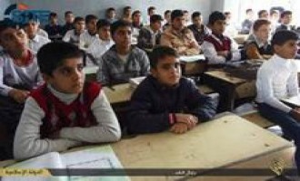 IS Publishes Photo Report on New School Year in Ninawa
