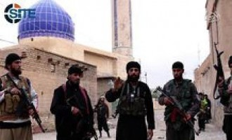 IS Refutes Iraqi Government Claims of Seizing Beiji, Shows Fighters Speaking from City Center