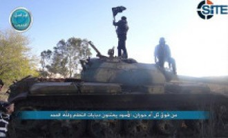Al-Nusra Front Publishes Photos Showing Capture of Syrian Base in Daraa
