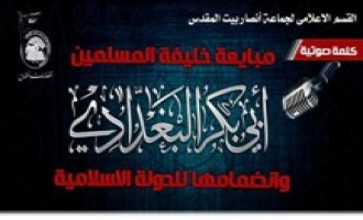 Ansar Beit al-Maqdis Pledges Allegiance to the Islamic State