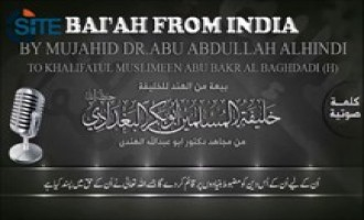 Al-Isabah Media Releases Audio of Pledge from Fighter in India to IS