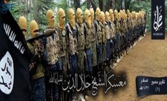 IS' Khorasan Province Publishes Photo Report on Training Camp