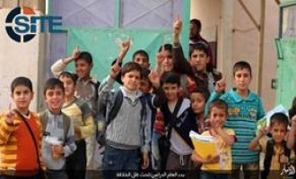 IS Publishes Photo Report on Start of New School Year for Boys in Anbar