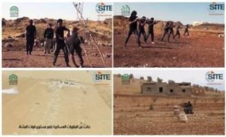Ahrar al-Sham Releases Training Footage from Fateh al-Ghouta Camp, Infantry in Homs