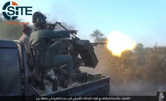 IS' West Africa Province Publishes Photo Report on Clashes with African Coalition Forces in Borno