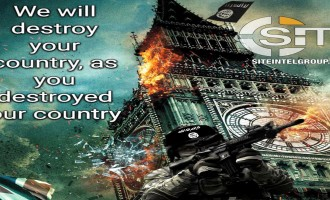 Pro-IS Jihadist Designs Poster Threatening Destruction in the U.K.