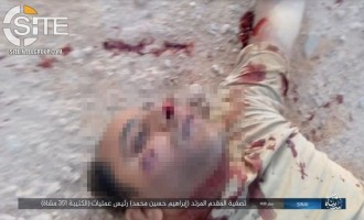 IS' Sinai Province Photographs Corpse Lt. Col. in Central Sinai
