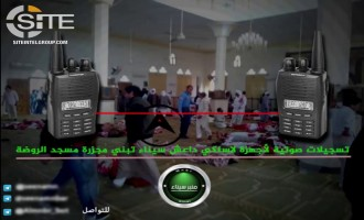 Anti-IS Sinai-based Group Distributes Alleged Leaked Conversation Between IS Members Claiming Rawdah Mosque Attack
