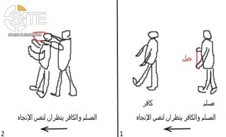"IS Supporter Suggests Lone-Wolf Jihadists Strangle ""Disbelievers"", Gives Illustrated Guide"