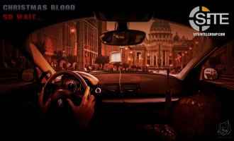 Pro-IS Media Group Depicts Christmas Attack on Vatican in Poster