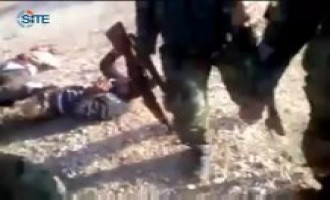 Video Purports to Show Hezbollah Fighters Executing Wounded Syrians