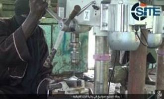 IS' West Africa Province Releases Photos of Rocket Manufacture Workshop