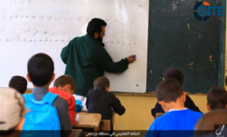 IS Photo Report Shows Education of Children in Aleppo