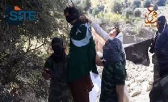 TTP Hangs Pakistani ISI Officer in North Waziristan in Video