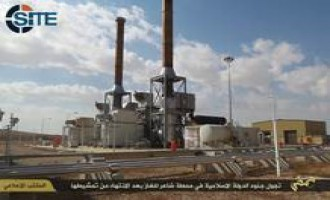 IS Claims Control Over Shaer Gas Field in Homs, Gives Photo Report