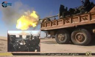 IS Publishes Photo Reports on Operations in Aleppo, Anbar, Raqqah