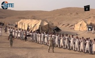 "IS Video Shows Footage from Training Camp in Ninawa in New Series ""Blood of Jihad"""