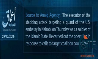'Amaq Reports Attack on American Embassy in Kenya
