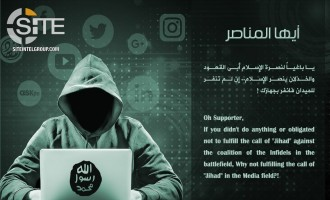 Pro-IS Group Publishes Arabic, English, and French Posters Urging Supporters to Post Propaganda on Social Media`