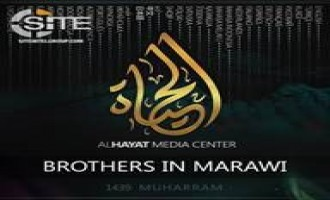 IS Releases English Audio Chant Promoting Fighters in Marawi