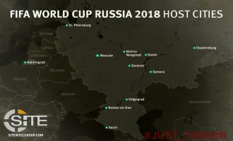 Pro-IS Telegram Channel Distributes Map of Host Cities for 2018 FIFA World Cup in Russia