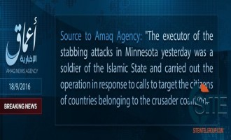 "IS' 'Amaq Reports that Minnesota Stabbings were Carried out by ""Soldier of the Islamic State"""