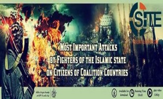 "Pro-IS Group Releases ""Videographic"" on ""Most Important"" Attacks by IS Fighters, Supporters on Coalition Citizens"