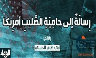 Pro-IS Group Publishes Message from Jihadist Warning America of Destruction by Lone Wolves