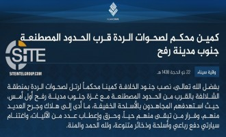 IS Claims Ambush on Tribal Militia Near Sinai-Gaza Border