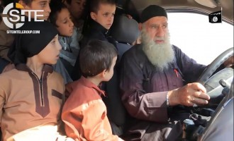 IS Video Focuses on Elderly Fighter Brainwashing Children to Become Suicide Bombers, Inciting Attacks in America, China, and Russia