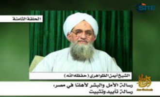 Zawahiri Claims Responsibility for Capture of American in Pakistan